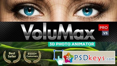 VoluMax 3D Photo Animator V5.2 13646883 (Updated 10 September 18) After Effects Template