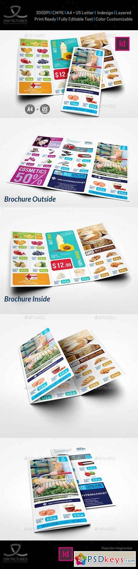 Supermarket Products Tri-Fold Catalog Brochure Vol5 22823918