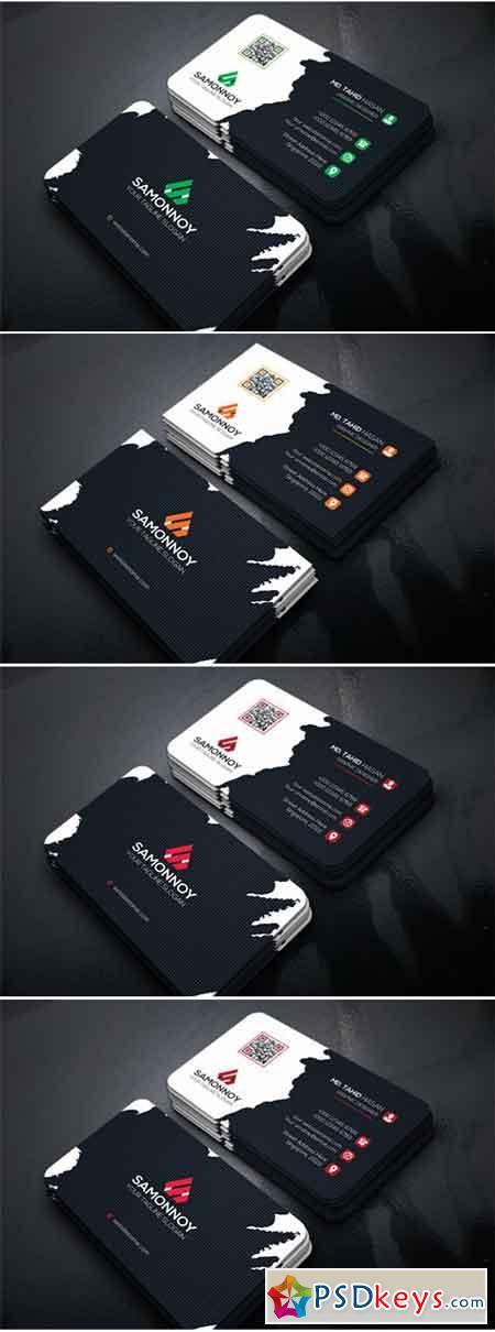 Business Card PSD & AI
