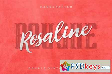 Rosalina Boushe - combined double fonts