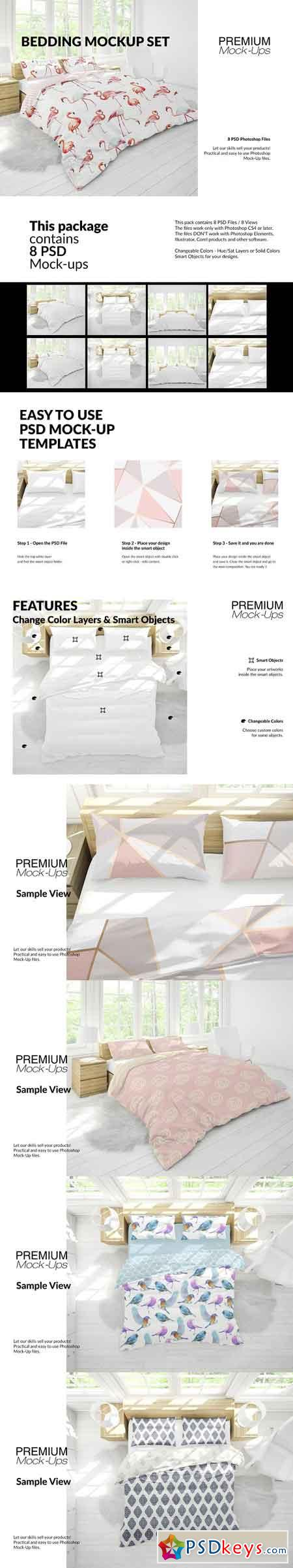 Bedding Mockup Set 2930610