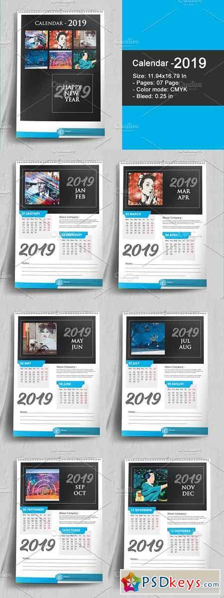 Wall Calendar 2019 22874101