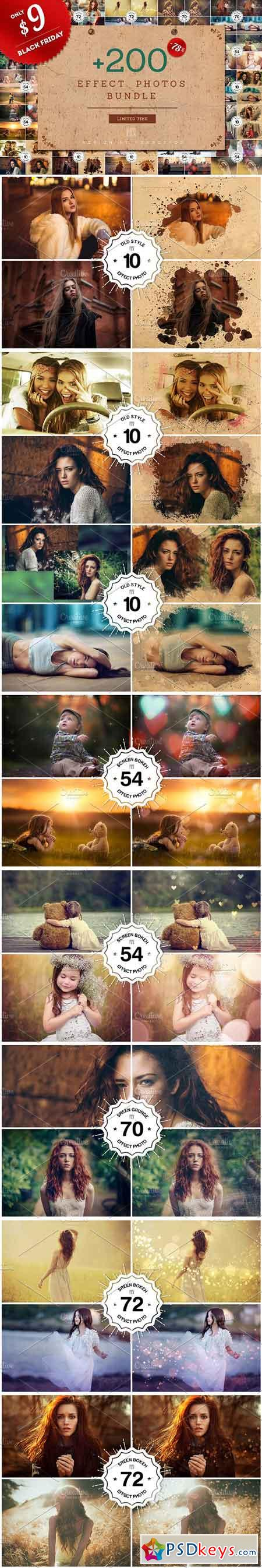 + 200 Effect Photos Bundle 3170736