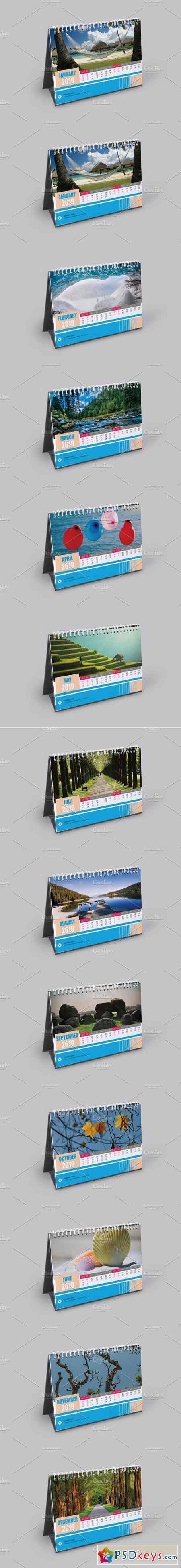 Desk Calendar 2019 V15 3051070