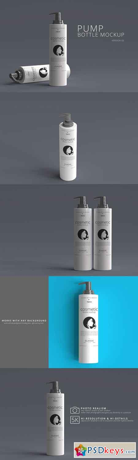 Pump Bottle Mockup 01 2993967