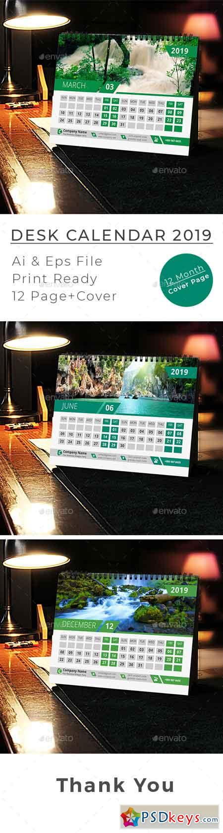Desk Calendar 22870788