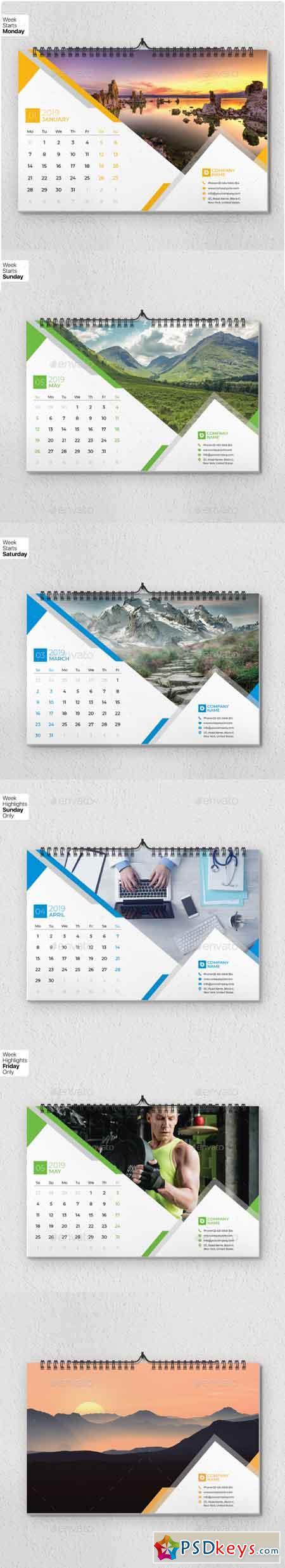 Wall Calendar 2019 - V16 3051292