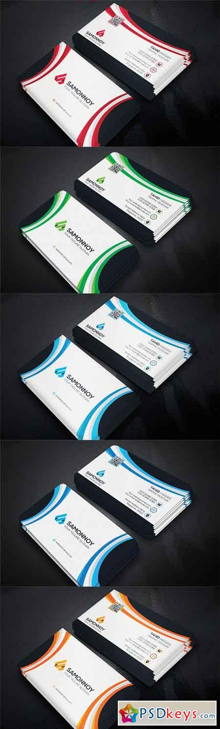 Business Card PSD & AI 03