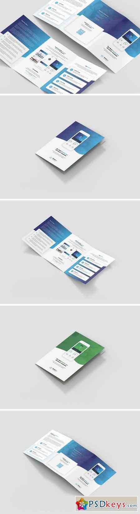 Brochure – Mobile App Tri-Fold A5