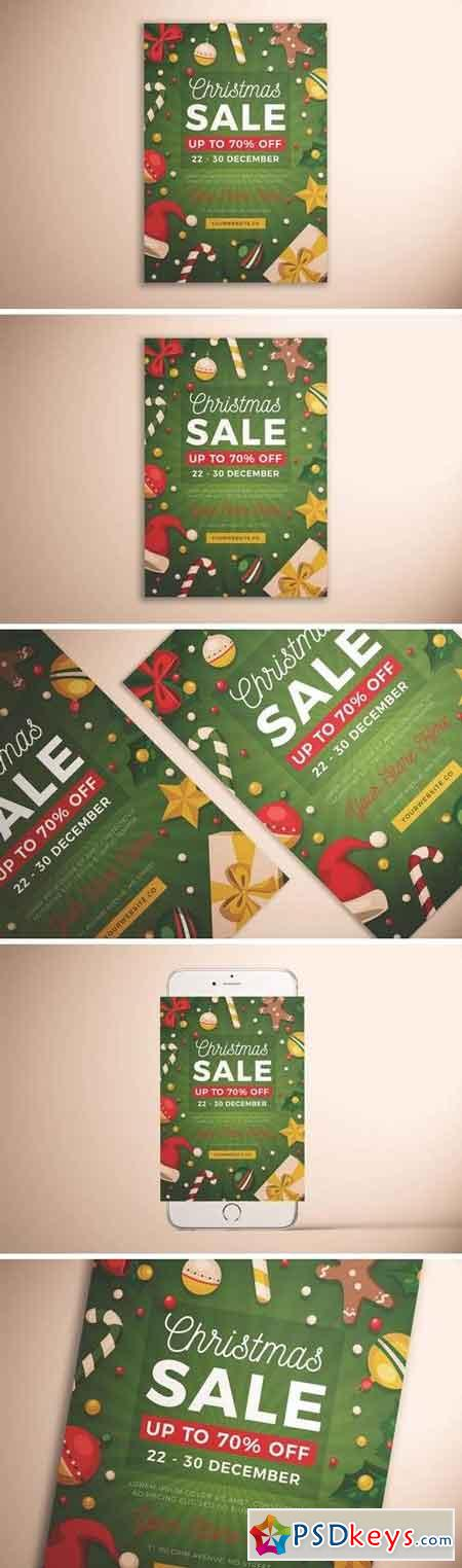 Christmas Sale Flyer Vol 03