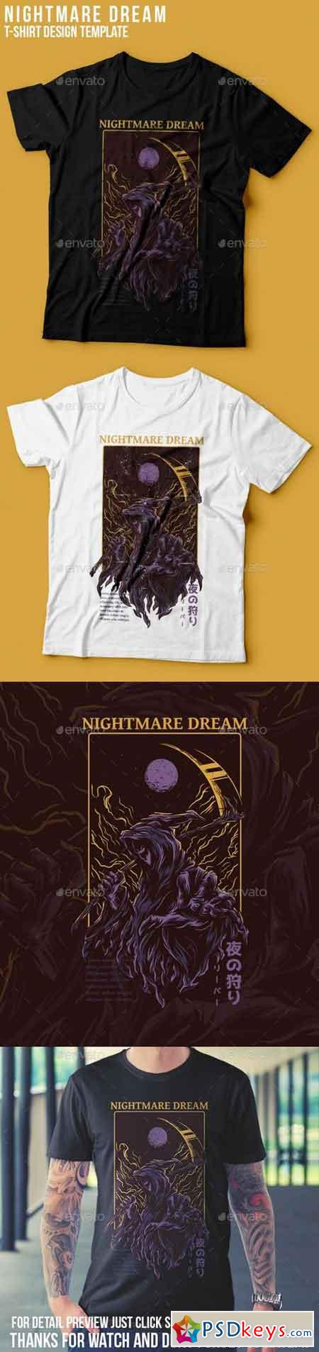 Nightmare Dream T-Shirt Design 22765707