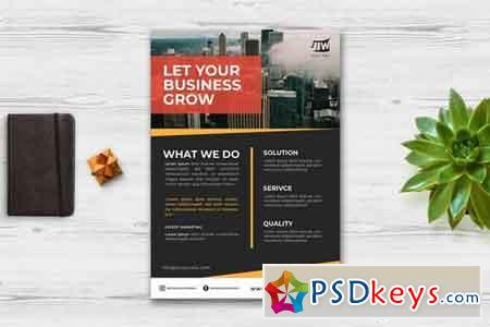 Business Flyer Print Template 3