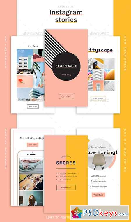 Animated Instagram Stories Templates 22815928