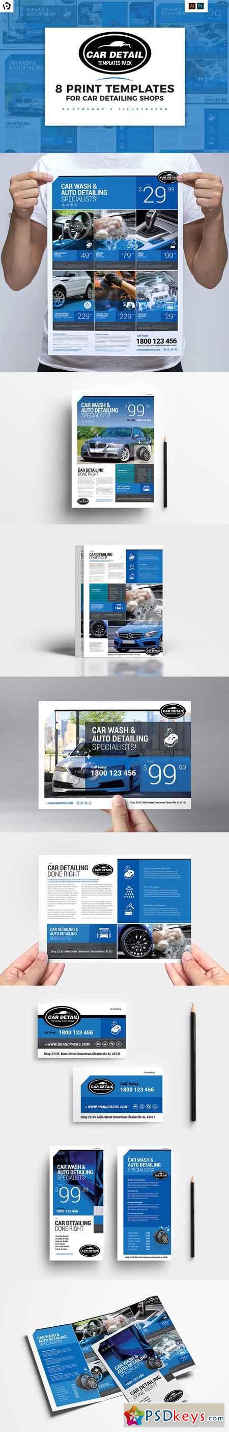 Car Detailing Templates Pack 2959609