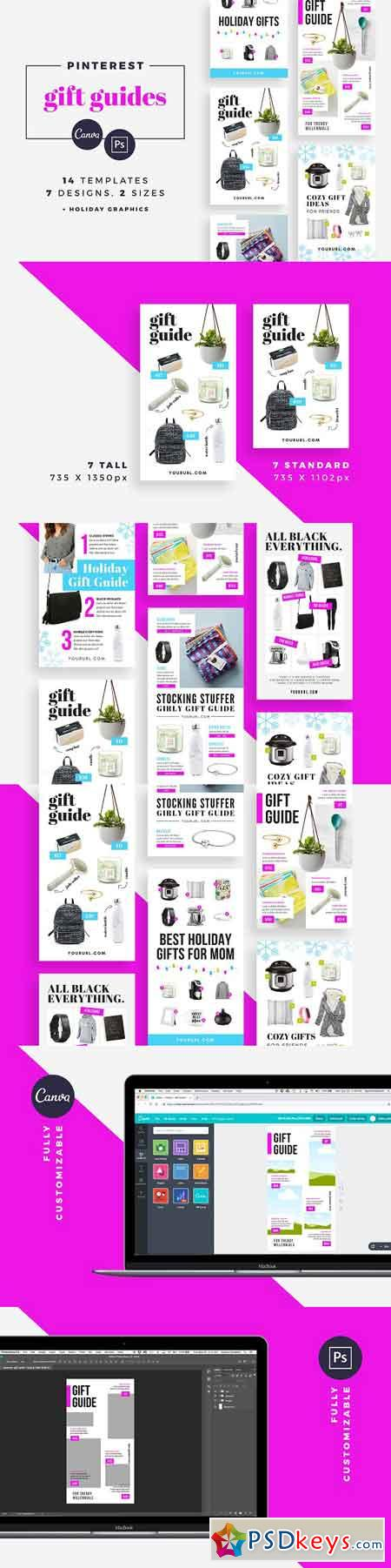 Gift Guide Pinterest Templates 2974832