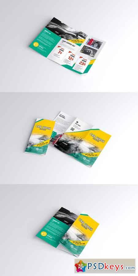 Car Wash Brochure 2897846