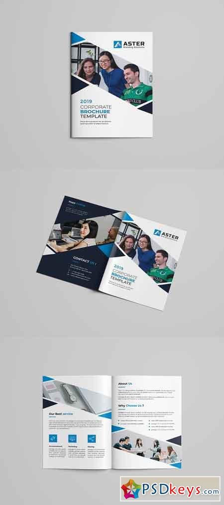 Bi-Fold Brochure Template 2977402