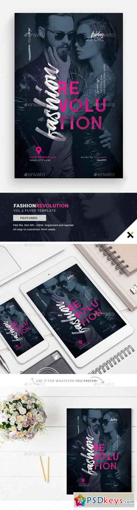 Fashion Revolution Vol.2 Flyer Template 22850221