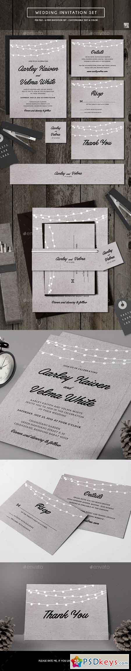 Wedding Invitation 19630705