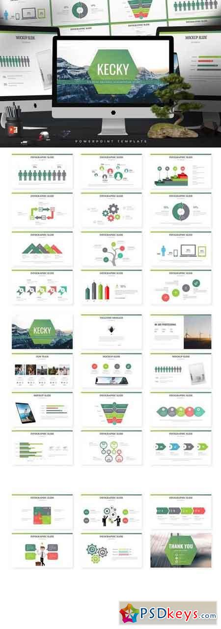 Kecky - Powerpoint, Keynote, Google Sliders Templates