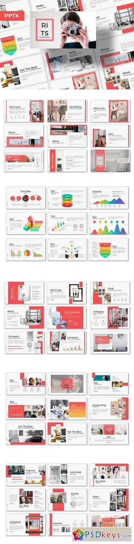 RITS Powerpoint - Powerpoint, Keynote, Google Sliders Templates