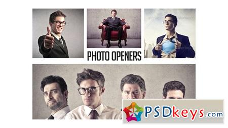 Corporate Photo Openers - Logo Reveal 12090485 After Effects Template