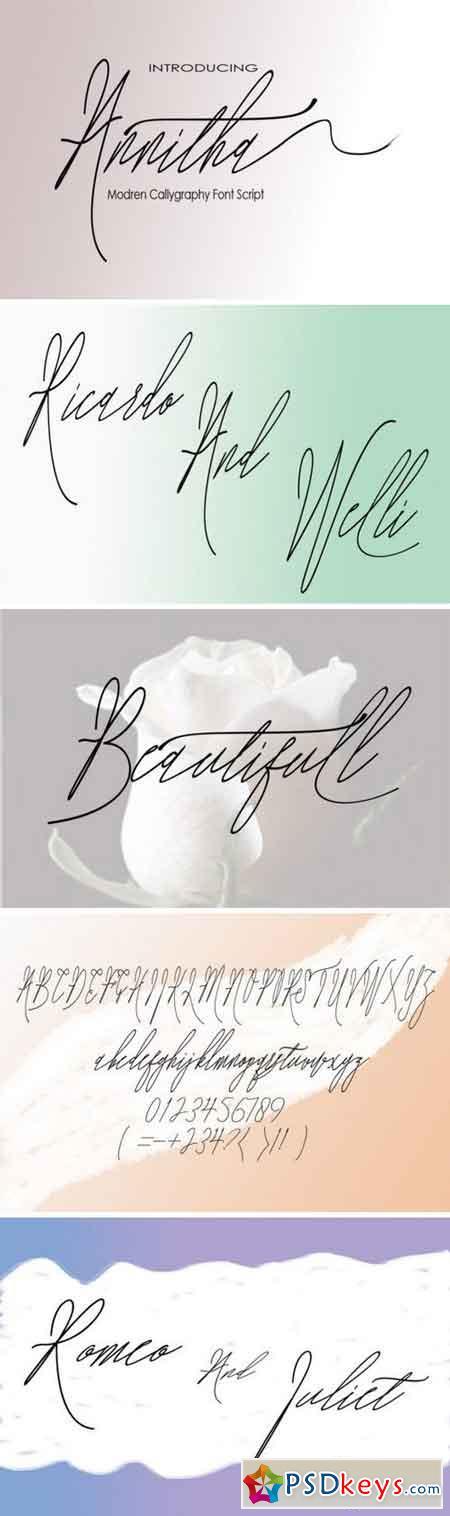 Annitha Font