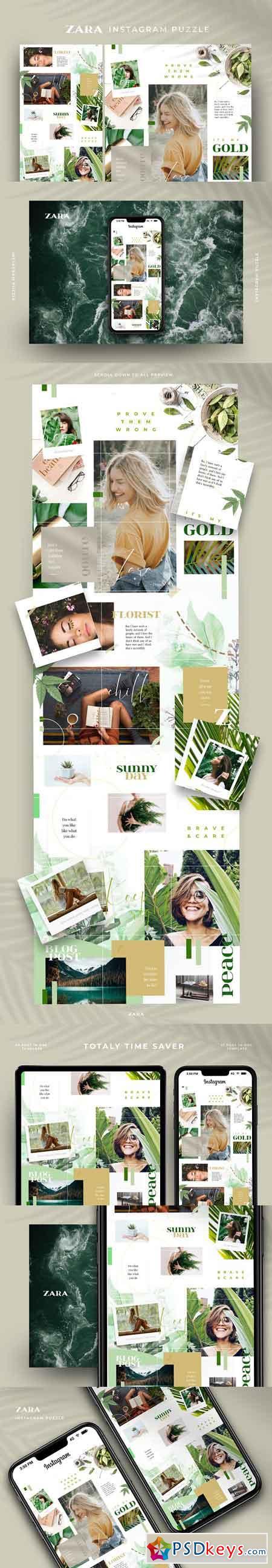 Zara - Instagram puzzle 3210664