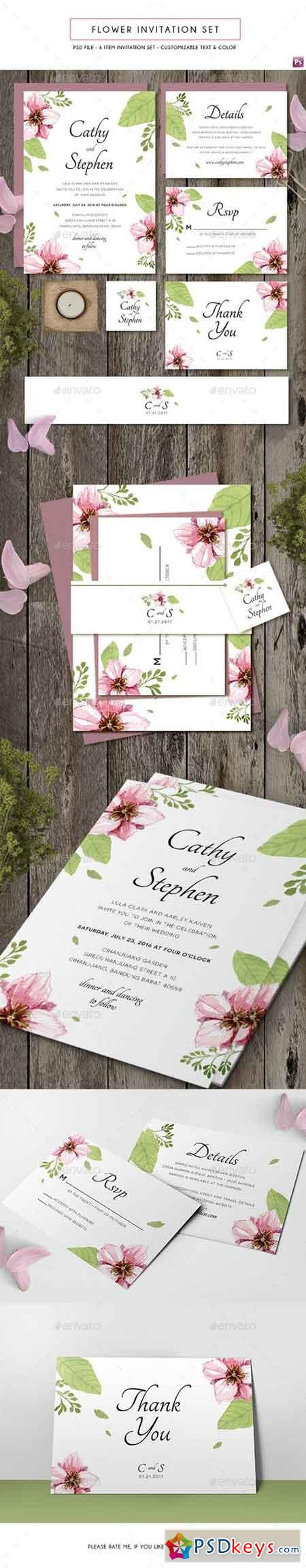 Flower Invitation 19412535