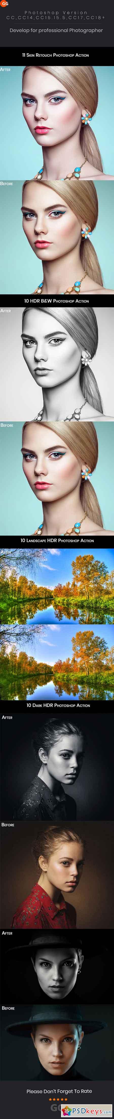 Photoshop Action Bundle 22838436