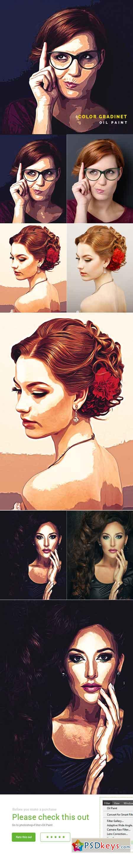 Color Gradient Oil Paint 22823760