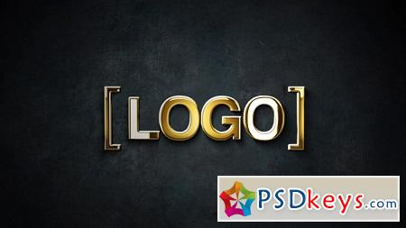 MotionElements Gold And Silver Stroke 3D Logo Animation 11594500 After Effects Template