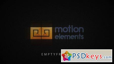 MotionElements Simple Glitch Logo 10685027 After Effects Template