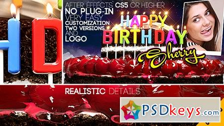 Happy Birthday All Languages 13100304 After Effects Template