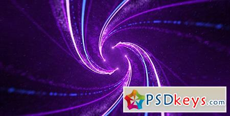 Particle Spiral Logo 10399077 After Effects Template