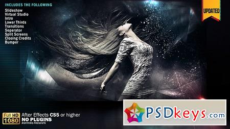 Crystal Slideshow Pack 3D V2 20854841 After Effects Template