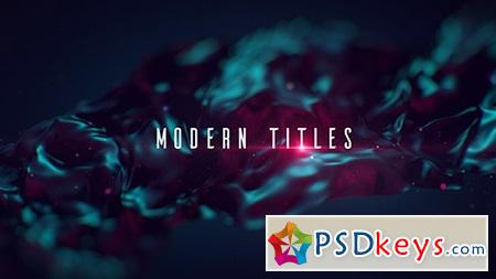 Modern Titles 16074874 After Effects Template