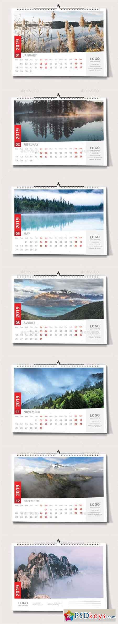 Wall Calendar 2019 22929678