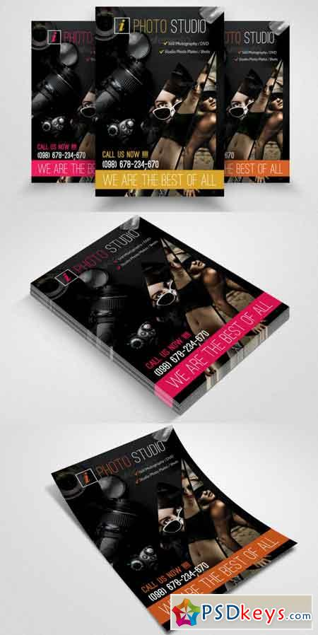 Photography Business Flyer Template 3507460