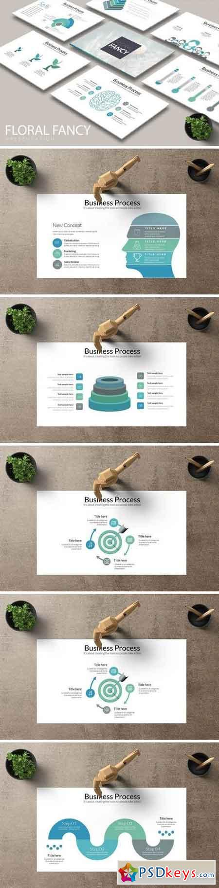 FLORAL FANCY Powerpoint