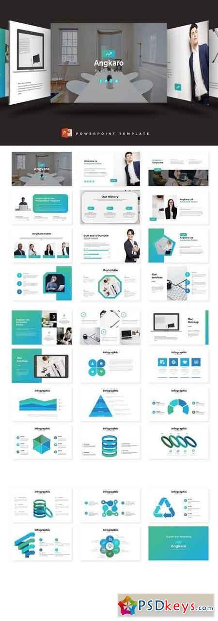 Angkaro - Powerpoint, Keynote, Google Sliders Templates