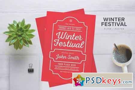 Winter Festival Flyer 2