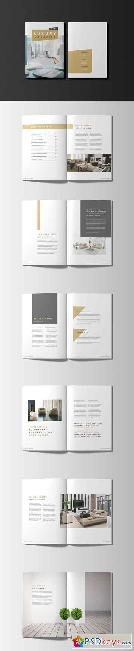 Luxury Lifestyle Magazine LookBook 3197652