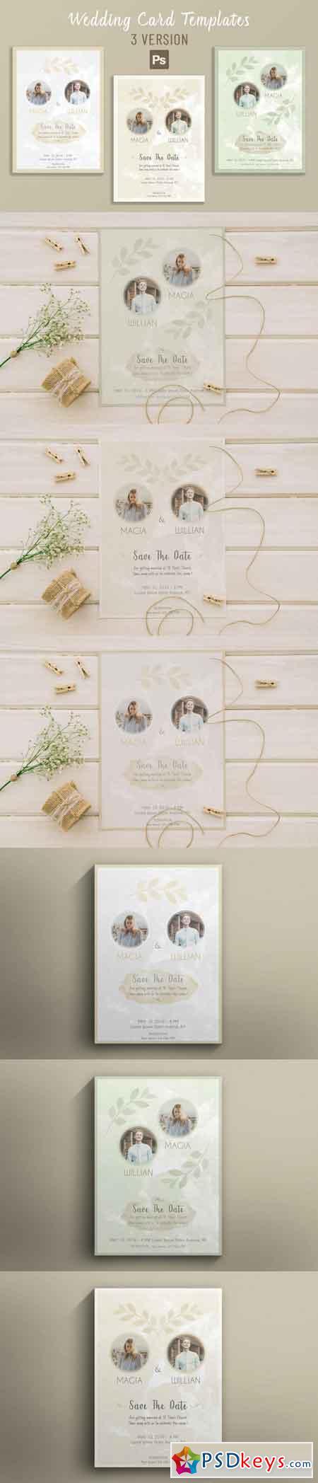 Wedding Card Templates 3512307