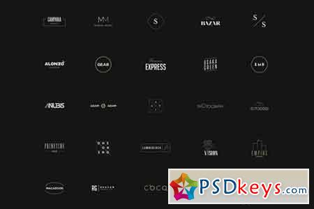 50 Minimal Logos Vol.2