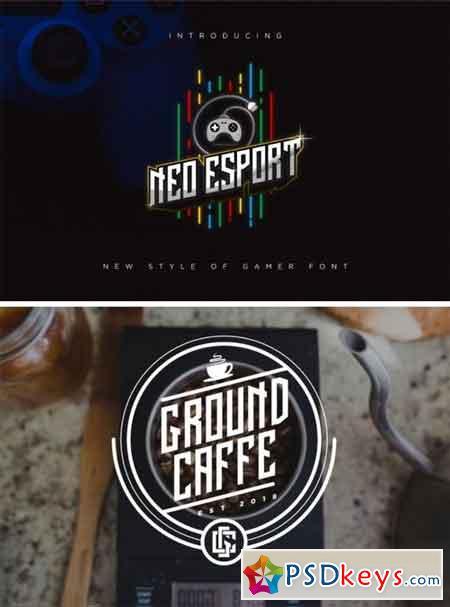 Neo Esports Font