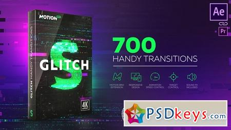 Glitch Transitions 21059280 After Effects Template