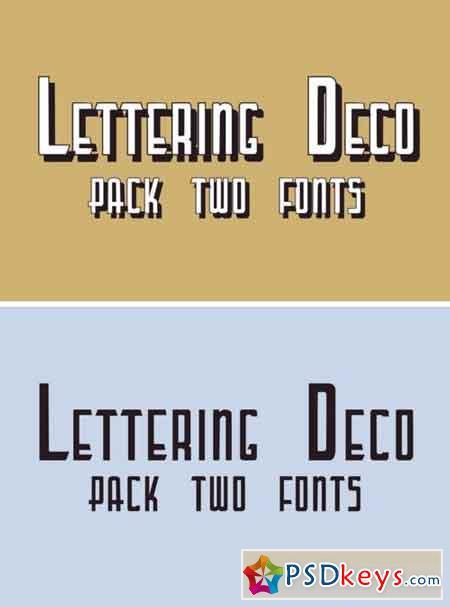 Lettering Deco 40393