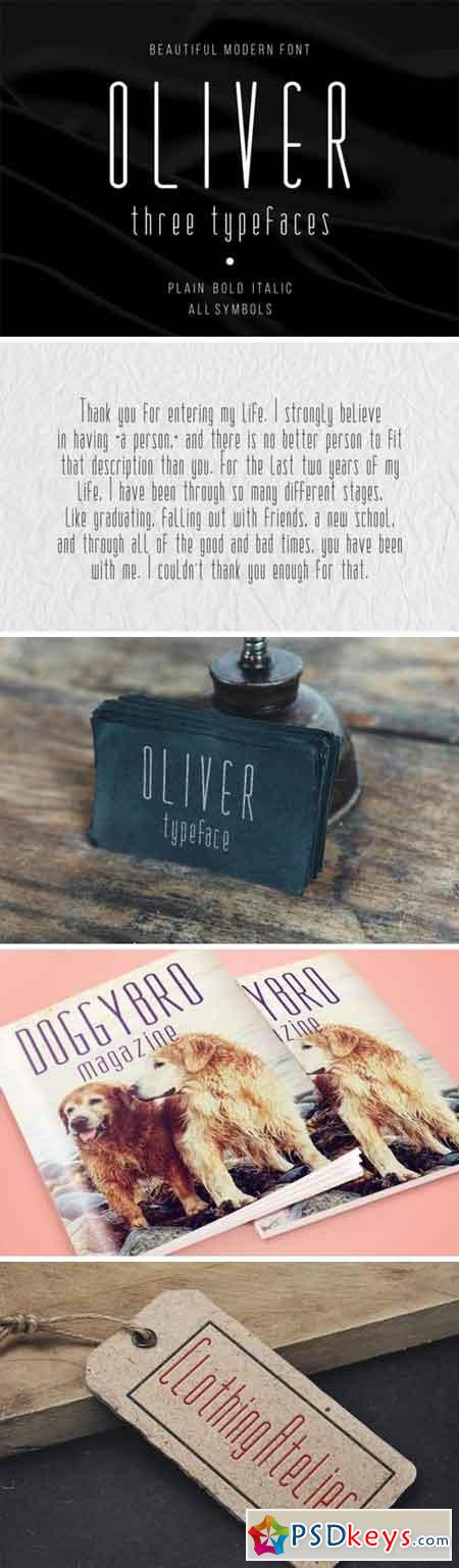 Oliver Family Font