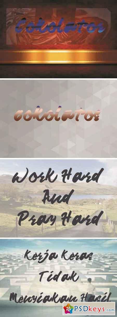 Cokolatos Font